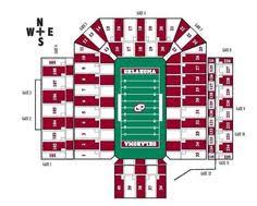 Oklahoma Memorial Stadium Seating Chart 89 Best Ou Images University Of Oklahoma Boomer Sooner