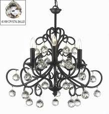 a7 586 5 chandeliers wrought iron crystal chandelier from wrought iron chandeliers for foyer source
