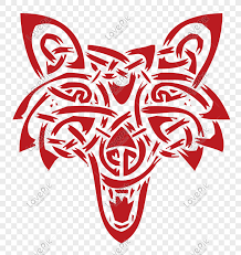 <b>Creative abstract wolf</b> head dog head png image_picture free ...