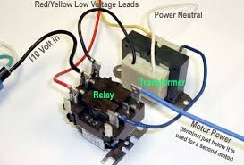 24 volt to 120 volt relay wiring diagram wiring diagram how to test a vacuum motor transformer motor brushes and relay