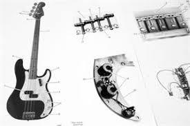 fender standard precision bass wiring diagram