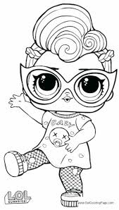 Lol Super Baby Coloring Pages