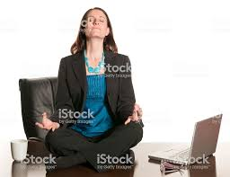 Image Office Space Office Meditation Stock Image Istock Office Meditation Stock Photo More Pictures Of Adult Istock