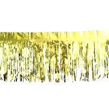 phenomenal fringe gold metallic foil fringe chandelier