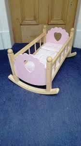 john lewis wooden toy cradle