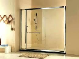 showers sliding glass shower door installing doors repair framel