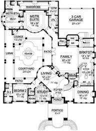 penthouses for sale floor plans floor plan fanatic pinterest House Plans With 3 Car Garage Apartment luxury style house plans 5933 square foot home, 2 story, 5 bedroom and 4 3 bath, 3 garage stalls by monster house plans plan (floor by stephen ellis 3 Car Garage with Apartment Floor Plans