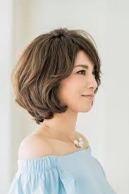 40代の毎日ヘアスタイル女らしく見える丸みショートヘア Story