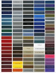 Maaco Paint Colors Chart Colorfunbase Com