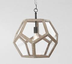 clear glass prism pentagon pendant light. Interesting Prism Pentagon Prism Pendant On Clear Glass Light