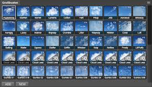 52 Photoshop Cloud Brushes Paint Realistic Clouds With Grutbrushes Com