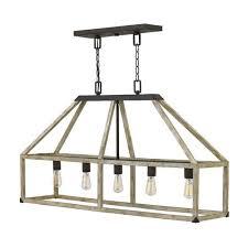 fredrick ramond emilie iron rust 42 inch five light chandelier