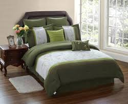 must see olive green bedding sets serene on a budget image coverlet bed