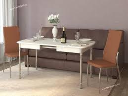 <b>Обеденный стол</b> Орфей 28 Стоун крем от производителя ...