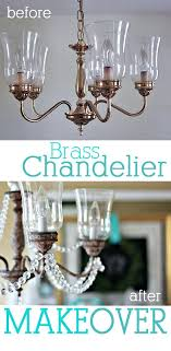 paint gold chandelier brass chandelier makeover that uses craft paint and crystals learn the easy technique