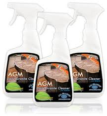 agm granite and marble countertop cleaner 3 pack contemporary household cleaning products by mr stone