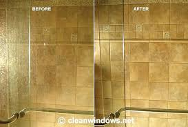 how to clean shower doors decorating ideas cleaning glass shower doors with wd40