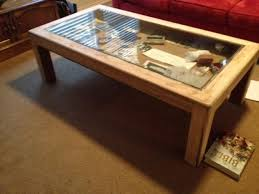 how to build glass top shadow box coffee table custom glass table top