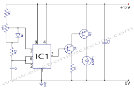 12 volt dc led dimmer wiring diagram picture wiring diagram 12v dc light dimmer circuit using 555 timer ic electronic circuits