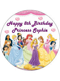 Disney Princess Cake Topper 3 Topcake Ireland