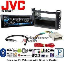 how to install a jvc car radio jvc car radio stereo cd player dash install mounting kit harness antenna