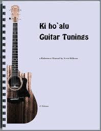 Hawaiian Slack Key Guitar Chord Chart Slack Key Guitar Tunings