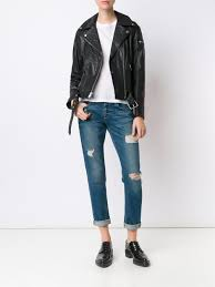 7 for all mankind zip up biker jacket women clothing 7 for all mankind leather