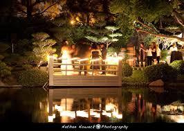japanese garden lighting. earl burns miller japanese garden wedding lighting