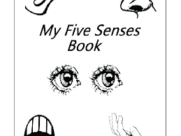 5 Senses Coloring Pages 5 Senses Coloring Pages X 5 Senses Coloring
