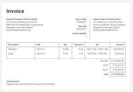 34+ Simple Invoice India Gif