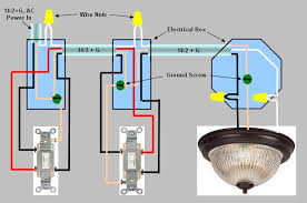 wiring diagram for 3 way switch power enters at one 3 way switch