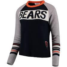 Chicago Bears Womens Team Spirit Pullover Sweater By Touch For Alyssa Milano