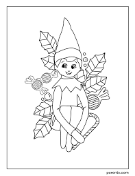 All your elf needs is some crayons or markers nearby to color this cute coloring page that is just their size. 7 Elf On The Shelf Inspired Coloring Pages To Get Kids Excited For Christmas Parents