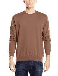 blue bright royal stedman apparel men s st4000 crew neck long sleeve sweatshirt