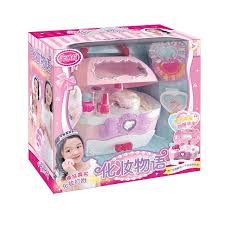 an lili barbie doll house toy set suit doll gift box suit clothes princess toy 66018a makeup story