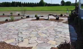 flagstone landscaping. Natural Flagstone Landscaping