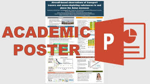 Create A Poster In Powerpoint How To Make An Academic Poster In Powerpoint