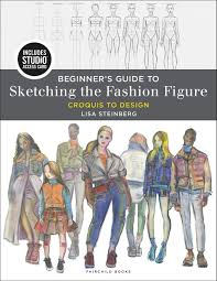 Books About Fashion Design Beginners Beginners Guide To Sketching The Fashion Figure Bundle