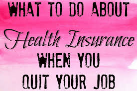your job but not sure what to do to find your own health insurance