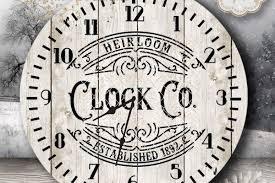 Clock Face Svg Designs