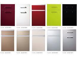 Red Kitchen Cupboard Doors Gloss Kitchen Cabinet Doors Monsterlune