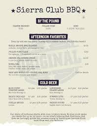 restaurant menu flyers from more than just templates bbq menu flyer