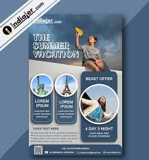 Handbill Template Free 40 Travel Flyer Templates Indiater