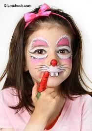 bunny costume makeup photo 2