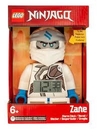 <b>Будильник LEGO</b> Ninjago, минифигура Zane (Зейн) <b>Lego</b> ...
