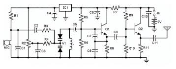 smd fm transmitter circuit