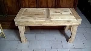 rustic wood pallet coffee table
