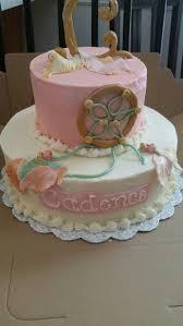 Dream Catcher Baby Shower Cake