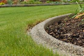 Concrete Landscape Edging Ideas