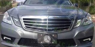 Gloss black side mirror housings and the cargo rack are just some of the accessories dealers can install to personalize your vehicle. Mercedes Bling Front Vanity Stainless License Plate Frame W Swarovski Crystals Ebay